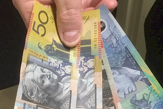 Counterfeit Cash Warning
